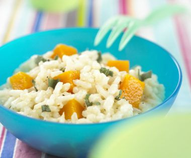 Serving cooked rice with veggies is an ideal way to …