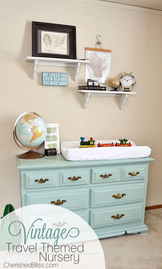 A DIY Nursery on a budget! This room was under $300 in expenses!!!