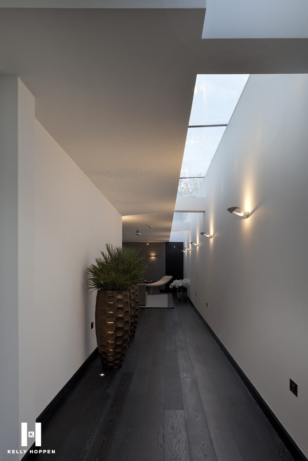 Love thèse skylights | Kelly Hoppen for Regal Homes @ Circus Road www.kellyhoppen.com