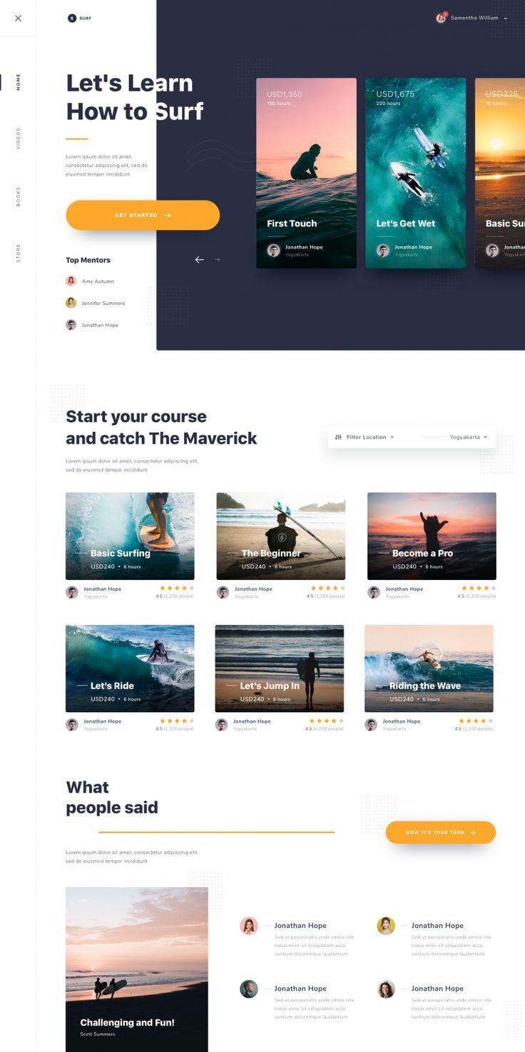 Exploration Best Website Design 2019 Best Freelance Web Designers Creative Websites Templates Website Des Web Design Tips Web Design Web Layout Design