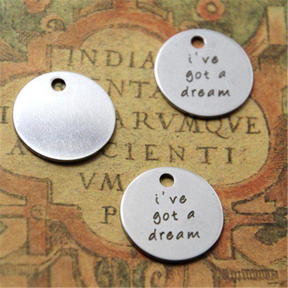 10pcs sea witch charm silver tone message charm pendant 20mm