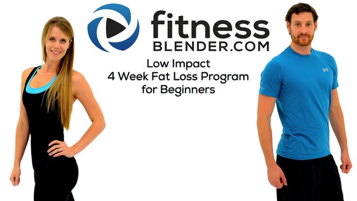 Low Impact 4 Week Fat Loss Program for Beginners Now Available! - Fitness Blender