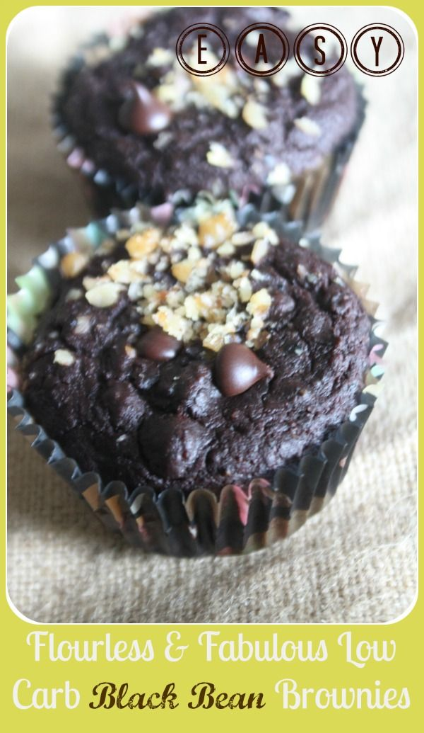 I'm In Love with these Brownies.   Four batches in three days in love.   I've got it bad.   I didn't invent black bean brownies, but I d...