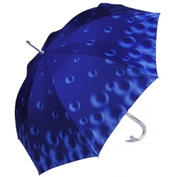 Raindrop Blue Umbrella