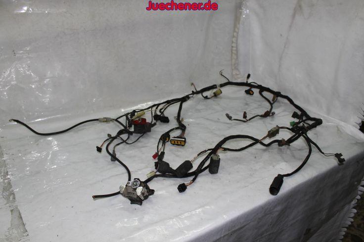 Kawasaki ZX6R ZX600J Ninja Baujahr 2002 Kabelbaum  #Elektrik #Kabel #Kabelbaum #Kabelstrag