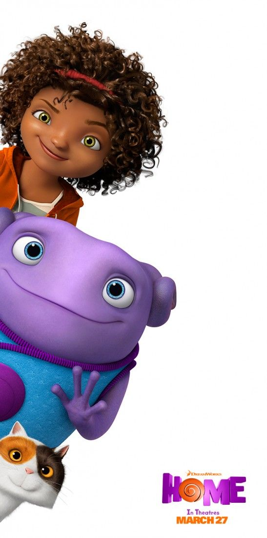 Meet Oh, Tip, and Pig from the movie Home. Sponsored by DreamWorks.
