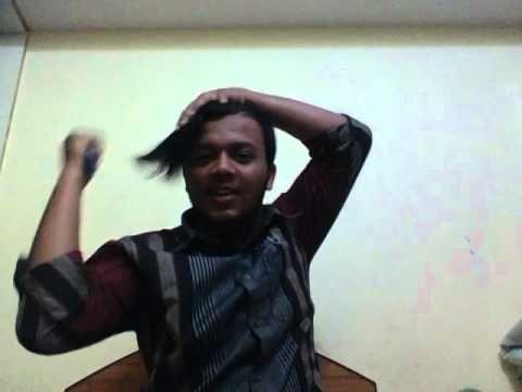 Hair styles for boys who has got long hair by KREAZEE GYEE