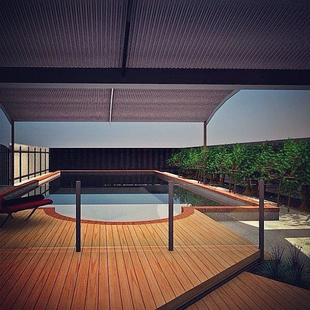 Pool deck outdoor living modern fun inspiration design exterior