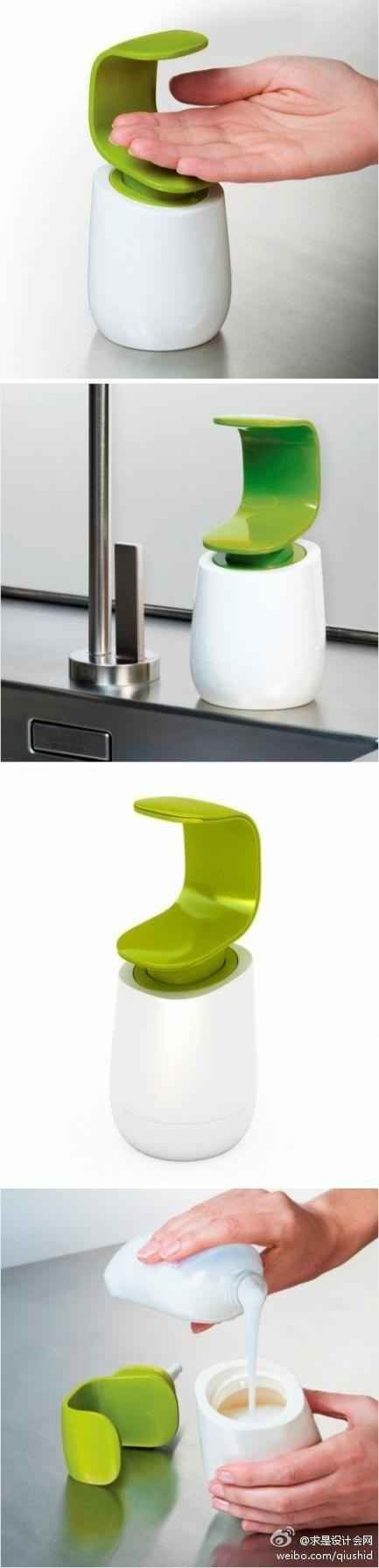 M s de 25 ideas fant sticas sobre dispensador de jab n de - Dispensador jabon cocina ...