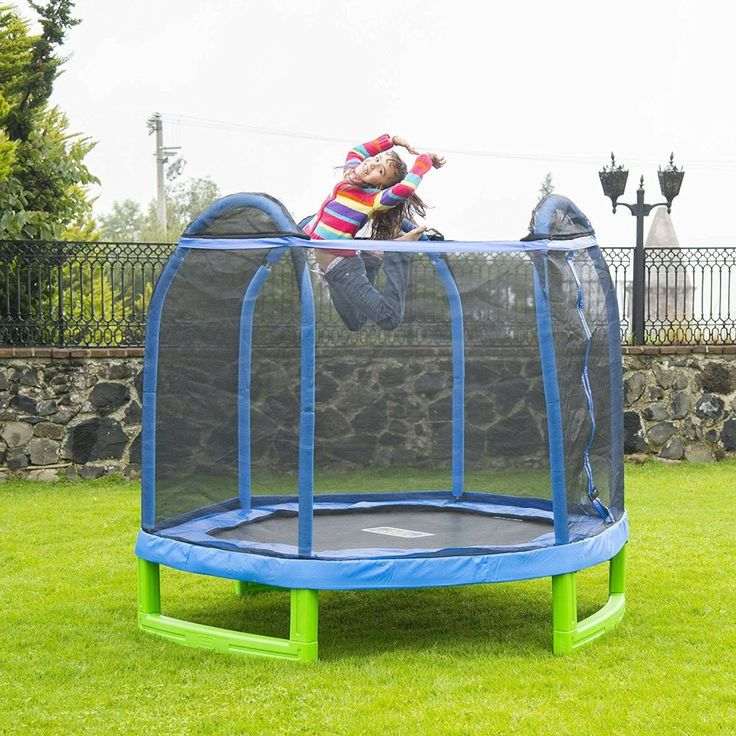 New 14ft Trampoline Combo Bounce Jump Safety Enclosure Net: Best 25+ Best Trampoline Ideas On Pinterest
