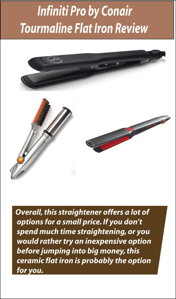 Infiniti Pro By Conair Tourmaline Flat Iron Is One Of The Leading On Market