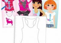 Girl Club - Carte activitati pt fetite - T-Shirt Studio | Bebeart