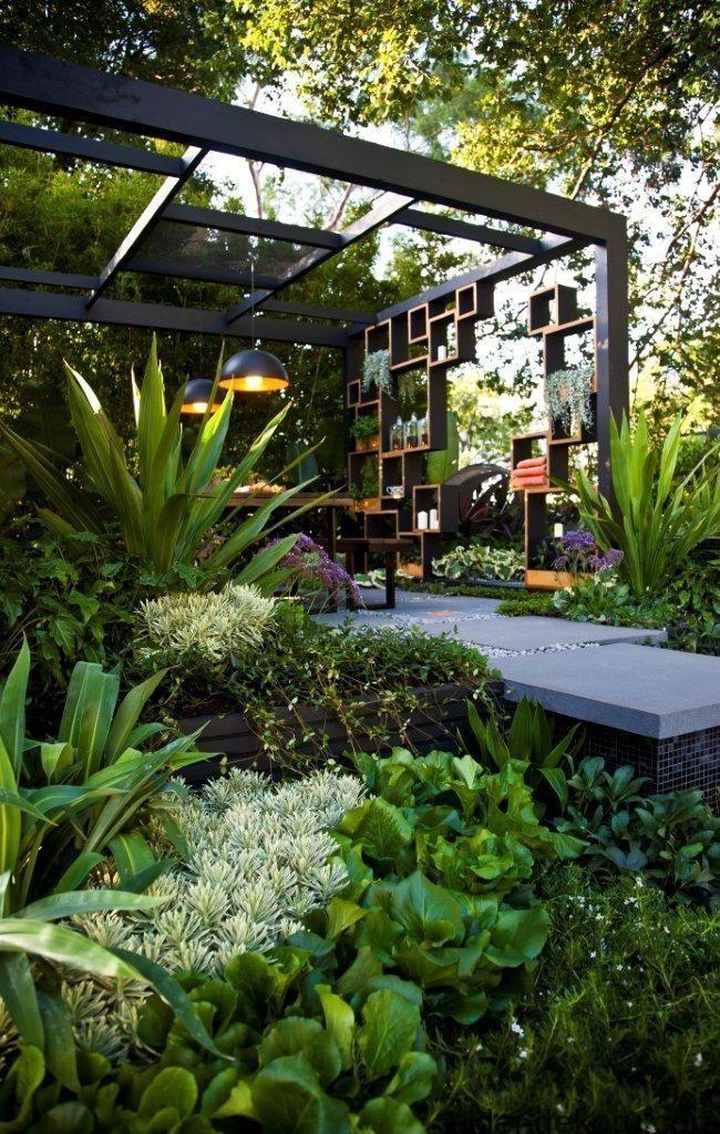 Les 25 meilleures id es de la cat gorie pergola - Idee veranda terrasse ...