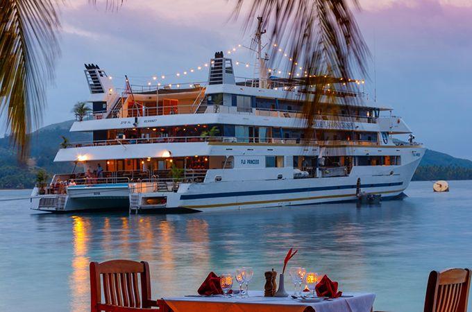 Fiji's Blue Lagoon Cruises offer romantic getaways