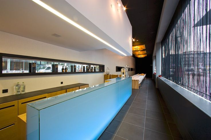 Design environment: Hospitality - hotel  Brand: Rockfon Product: Sonar