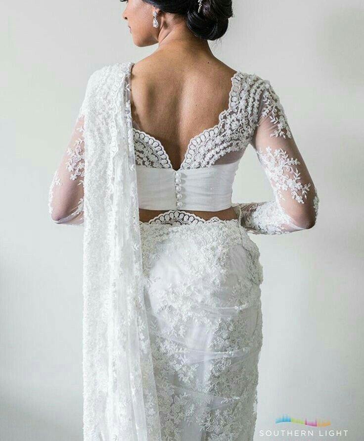 Designer backless blouse