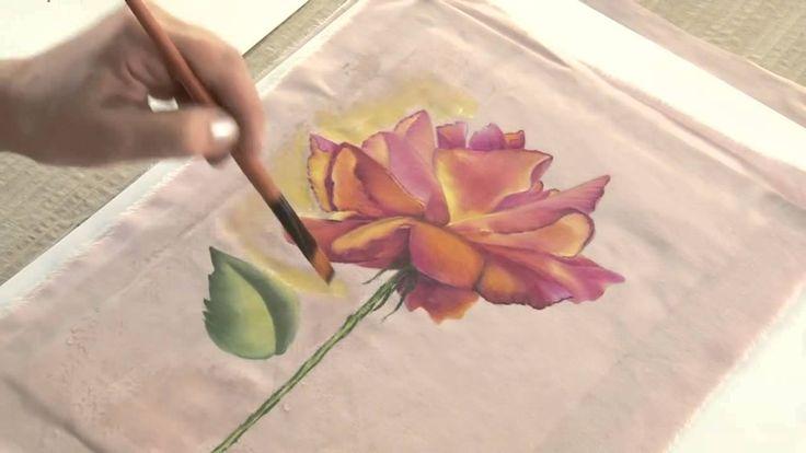 Monitor ana maria paravic pintura sobre tela como - Como pintar sobre tela ...
