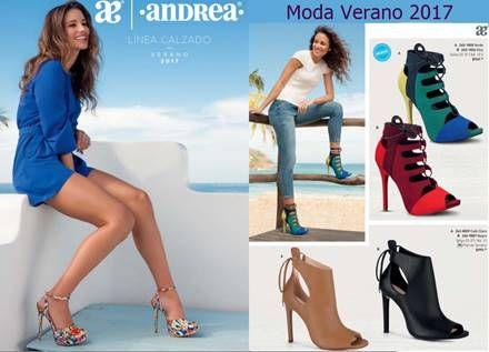 Andrea: Catalogo de Zapatos para Dama Verano 2017 ...