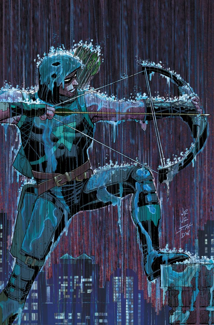 Green Arrow by John Romita Jr.