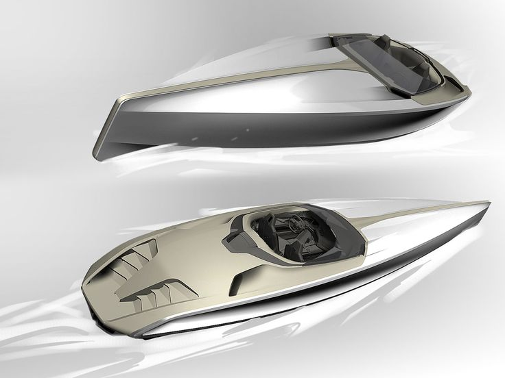 Peugeot Concept Powerboat - Design Sketches
