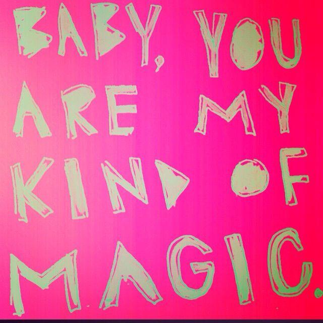 it's a kind of magic!