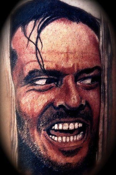 Portrait by joey hamilton tattoo artist las vegas usa for Tattoo artists las vegas