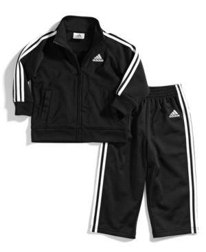 adidas Toddler Boys' 2-Piece Icon Jacket & Pants -