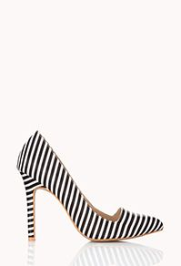 The perfect little striped pump at a great price!