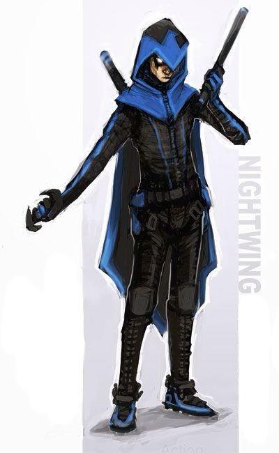 nightwing damian wayne cosplay - photo #6
