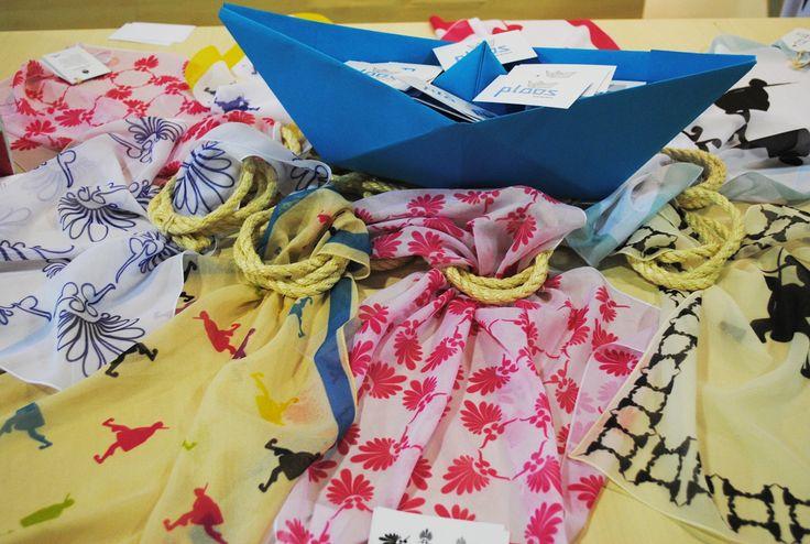 Ploos Design #scarves #greek #motifs
