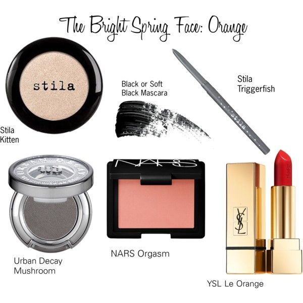 The Bright Spring Face: Orange