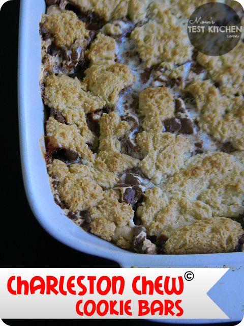 Charleston Chew Cookie Bars on MyRecipeMagic.com
