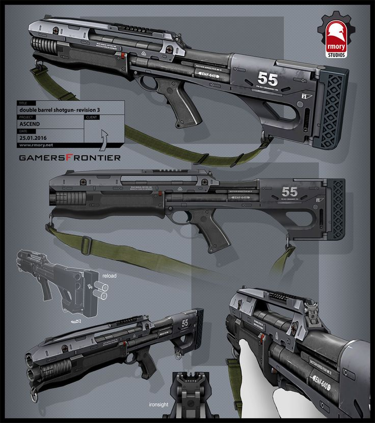 Ascend Shotgun, Kris Thaler on ArtStation at https://www ...
