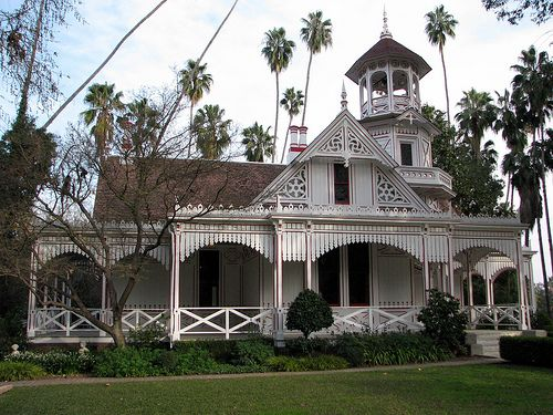 "Queen Anne Cottage,   LA County Arboretum - Arcadia, California, USA  ""Fantasy Island"" television series    was filmed here."