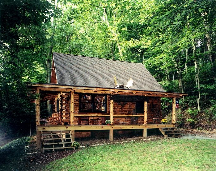 Adirondack country log homes cabin in the woods for Adirondack cabin builders