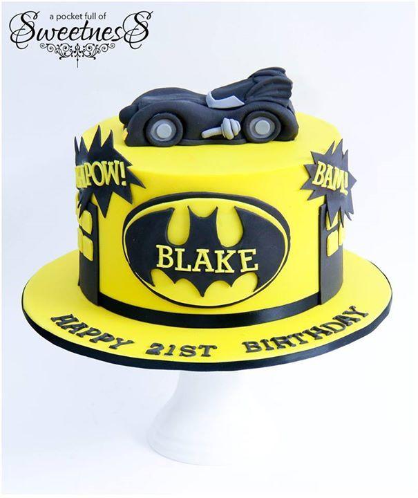 Batman Designs For Cakes