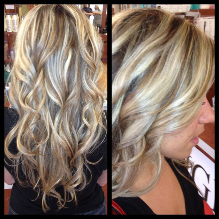 Hair Color Ideas For Blondes Lowlights : 91 best hair highlights images on pinterest