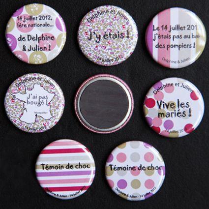 Badges Mariages Badges et Bijoux