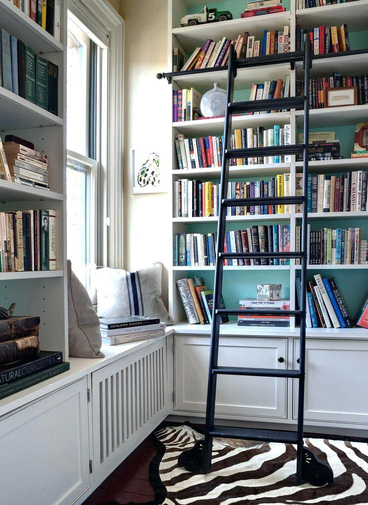 Best 25 Library Ladder Ideas On Pinterest Bookcase With