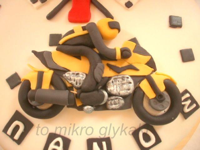 motocykle cake