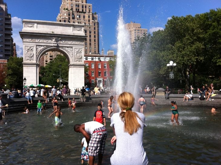 Washington Square Park, New York City - Just one of the top things to do in New York City on our latest blog post: http://www.ytravelblog.com/things-to-do-in-new-york-city/ #travel