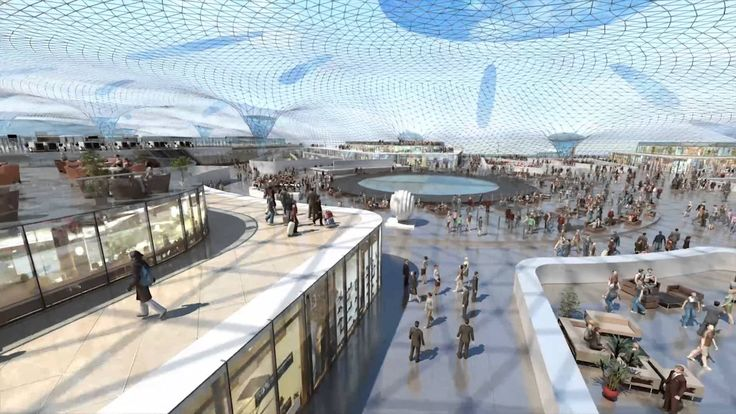 New International Airport for Mexico City   Foster + Partners and fr•ee (Fernando Romero Enterprise)