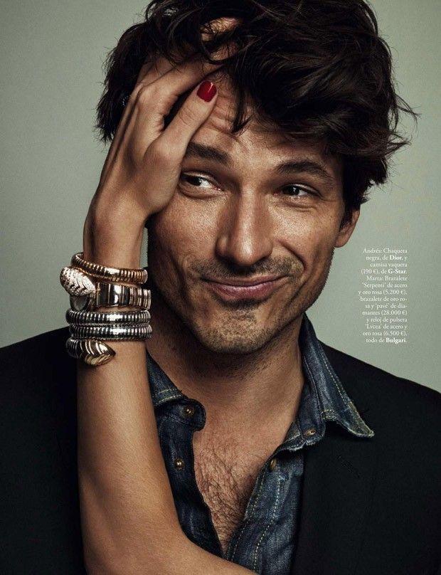 Andres Velencoso Segura for Elle Spain by Xavi Gordo