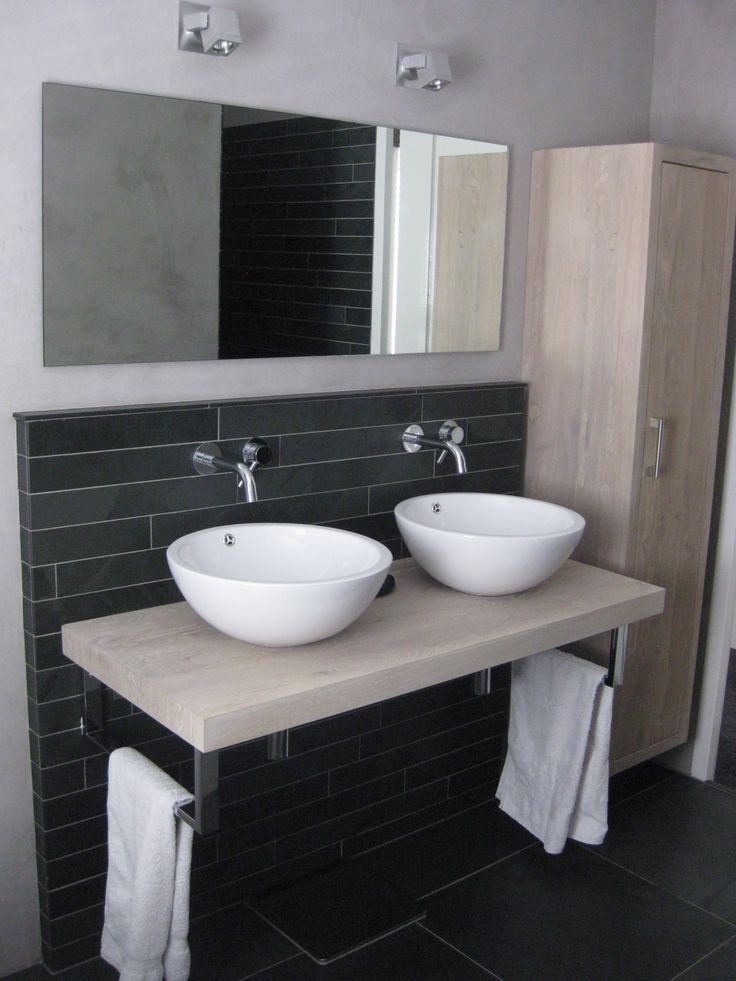 17 beste afbeeldingen over badkamer op pinterest - Werkblad bo is op maat ...