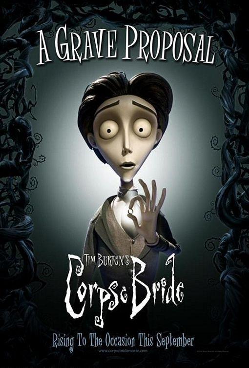TB073. Victor Van Dort / Corpse Bride / Movie Poster by BLT COMMUNICATIONS, LLC ( (2005) / #Movieposter