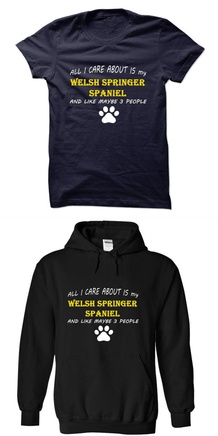 All I Care About Is My Welsh Springer Spaniel And Like Maybe 3 People #dog #shirt #big #brother #dog #t #shirt #blanks #dog #t #shirt #online #india #my #dog #rescued #me #t #shirt