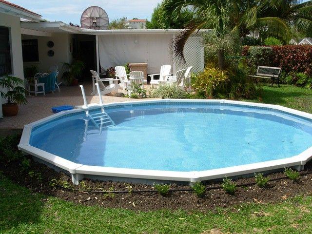 Semi above ground pools joy studio design gallery best Above ground swimming pools orlando florida