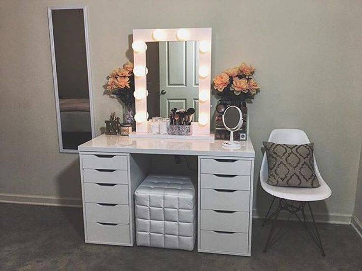Pin By King Katie ☆ On V A N I T Y Diy Makeup Vanity