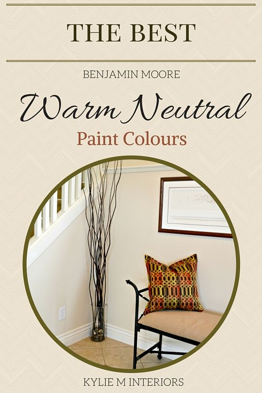 4 Beautiful Benjamin Moore Warm Neutral Paint Colours