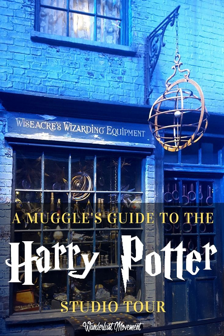The Muggle's Guide to the Harry Potter Studio Tour | Harry Potter fans unite! It's time to geek out in London at the Harry Potter Studio Tour and celebrate the best fandom in the world! Click to read all about my experience and see photos from the actual movie sets or pin it and save it for later. | London Travel | Geek Travel: